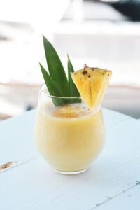 Great Indian Flavours pineapple smoothie